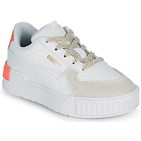 Scarpe Bambina Sneakers basse Puma CALI SPORT PS Bianco / Rosa