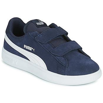 Scarpe Unisex bambino Sneakers basse Puma SMASH PS Blu