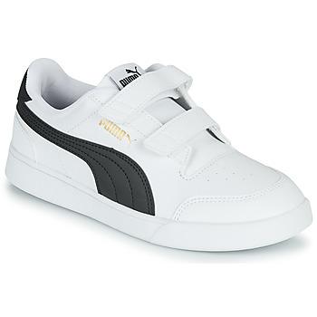 Scarpe Unisex bambino Sneakers basse Puma SHUFFLE PS Bianco / Nero