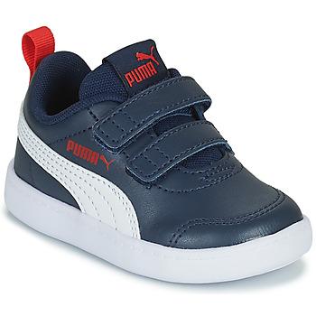 Scarpe Unisex bambino Sneakers basse Puma COURTFLEX INF Nero