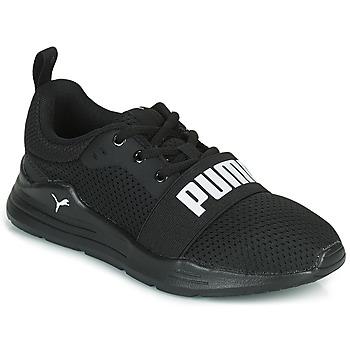 Scarpe Bambino Sneakers basse Puma WIRED PS Nero