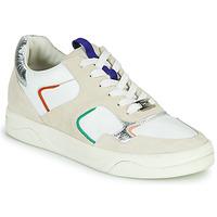 Scarpe Donna Sneakers basse Mam'Zelle ARTIX Bianco / Multicolore
