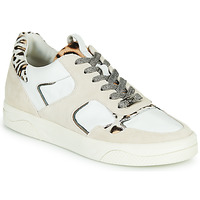 Scarpe Donna Sneakers basse Mam'Zelle ARTIX Bianco / Leopard