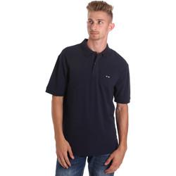 Abbigliamento Uomo Polo maniche corte Les Copains 9U9015 Blu