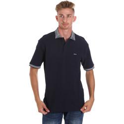 Abbigliamento Uomo Polo maniche corte Les Copains 9U9024 Blu