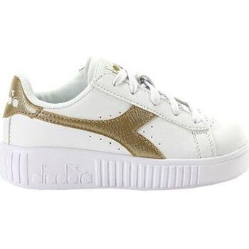 Scarpe Unisex bambino Sneakers Diadora game step ps c1070 Oro