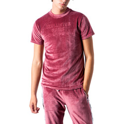 Abbigliamento Uomo T-shirt maniche corte Exclusive Paris 212 EX -TS Rosso