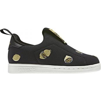 Scarpe Bambina Slip on adidas Originals  Nero