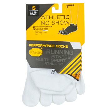 Accessori Calze sportive Vibram Fivefingers ATHLETIC NO SHOW Bianco