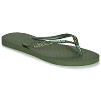 Scarpe Donna Infradito Havaianas SLIM GLITTER II Verde