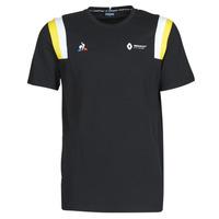 Abbigliamento Uomo T-shirt maniche corte Le Coq Sportif RENAULT FANWEAR 20 Tee SS M Nero