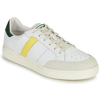 Scarpe Uomo Sneakers basse Serafini WIMBLEDON Bianco / Verde / Giallo