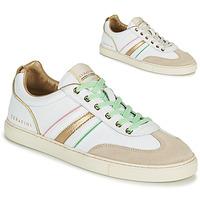 Scarpe Donna Sneakers basse Serafini COURT Bianco / Oro