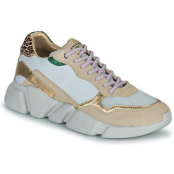 Scarpe Donna Sneakers basse Serafini OREGON Bianco / Oro