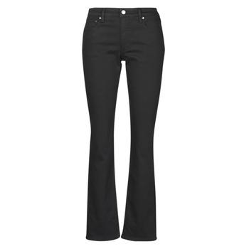 Abbigliamento Donna Jeans dritti Lauren Ralph Lauren MIDRISE STRT-5-POCKET-DENIM Nero