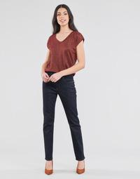 Abbigliamento Donna Jeans dritti Lauren Ralph Lauren MIDRISE STRT-5-POCKET-DENIM Marine