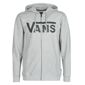 Abbigliamento Uomo Felpe Vans VANS CLASSIC ZIP HOODIE Cemento / Heather / Black