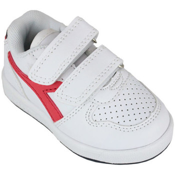 Scarpe Unisex bambino Sneakers basse Diadora playground td c0673 Rosso
