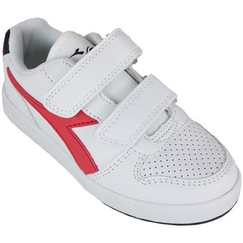 Scarpe Unisex bambino Sneakers basse Diadora playground ps c0673 Rosso