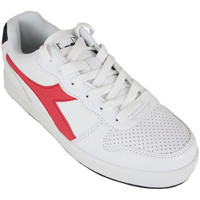 Scarpe Unisex bambino Sneakers basse Diadora playground gs c0673 Rosso