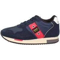 Scarpe Bambino Sneakers basse Blauer fodash02-nyl25-32 Basse Bambino Blu Blu