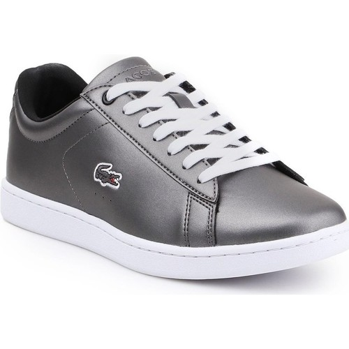 Scarpe Donna Sneakers basse Lacoste Carnaby Evo 317 Argento