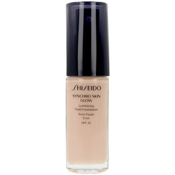 Bellezza Donna Fondotinta & primer Shiseido Synchro Skin Glow Luminizing Fluid Foundation r2 30 ml