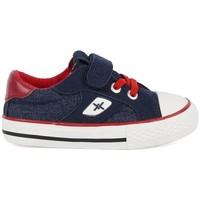 Scarpe Bambino Sneakers basse Chika 10 Lona Marino Blu