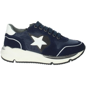 Scarpe Unisex bambino Sneakers basse Asso AG-8704 BLU
