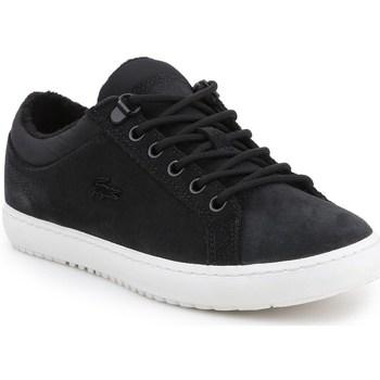 Scarpe Donna Sneakers basse Lacoste Straightset Insulate Nero