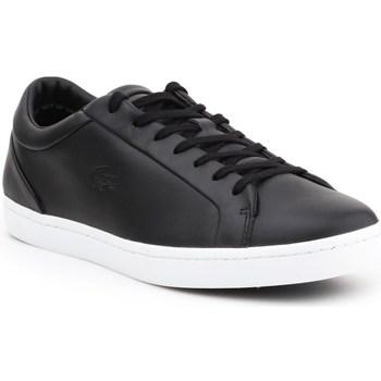 Scarpe Uomo Sneakers basse Lacoste Straightset Nero