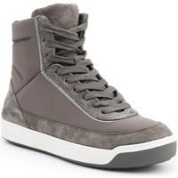 Scarpe Donna Sneakers alte Lacoste Explorateur Calf Bianco, Grigio, Beige