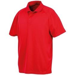 Abbigliamento Polo maniche corte Spiro SR288 Rosso