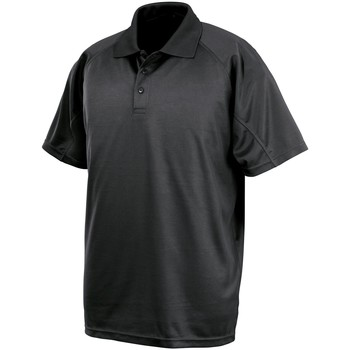 Abbigliamento Polo maniche corte Spiro SR288 Nero