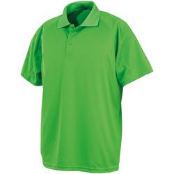 Abbigliamento Polo maniche corte Spiro SR288 Lime