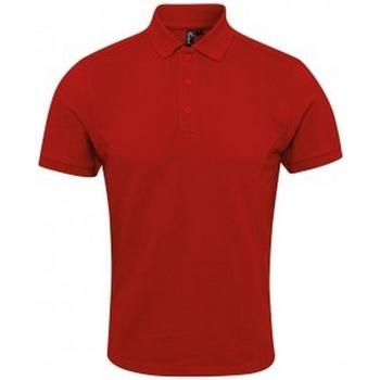 Abbigliamento Uomo Polo maniche corte Premier PR630 Rosso