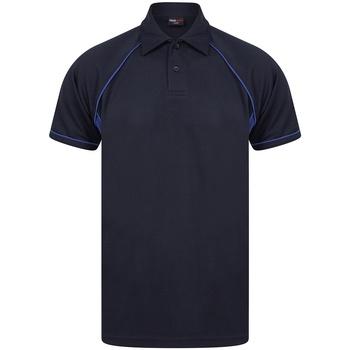 Abbigliamento Uomo Polo maniche corte Finden & Hales LV370 Blu