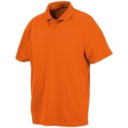 Abbigliamento Polo maniche corte Spiro SR288 Arancione