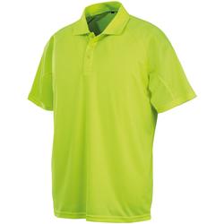 Abbigliamento Polo maniche corte Spiro SR288 Giallo Fluo