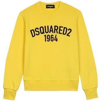 Abbigliamento Bambino Felpe Dsquared FELPA GIROCOLLO DQ02ER-D00P6 Giallo