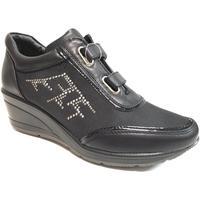 Scarpe Donna Sneakers basse Diamantique ATRMPN-22582 Nero