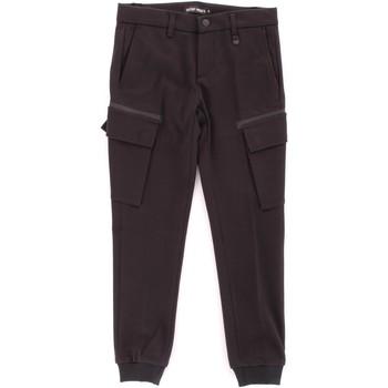 Abbigliamento Bambino Pantalone Cargo Antony Morato MKTR00162-800130 Nero