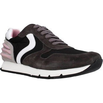 Scarpe Bambina Sneakers basse Voile Blanche LIAM POWER LACCIO Nero