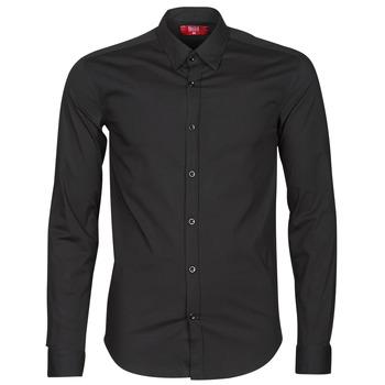 Abbigliamento Uomo Camicie maniche lunghe BOTD OMAN Nero