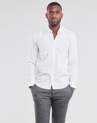 Abbigliamento Uomo Camicie maniche lunghe BOTD OMAN Bianco