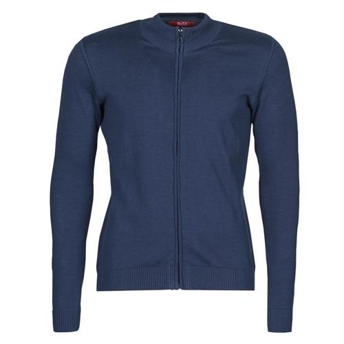 Abbigliamento Uomo Gilet / Cardigan BOTD OCARDI Marine