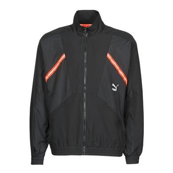 Abbigliamento Uomo Giacche sportive Puma WVN JACKET Nero / Rosso