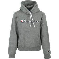 Abbigliamento Donna Felpe Champion Hooded Sweatshirt Wn's Grigio