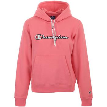 Abbigliamento Donna Felpe Champion Hooded Sweatshirt Wn's Rosa