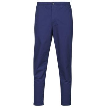 Abbigliamento Uomo Pantaloni 5 tasche Polo Ralph Lauren PANTALON CHINO PREPSTER AJUSTABLE ELASTIQUE AVEC CORDON INTERIEU Navy